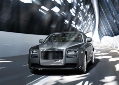 Тест-драйв Rolls-Royce Ghost 2009 года